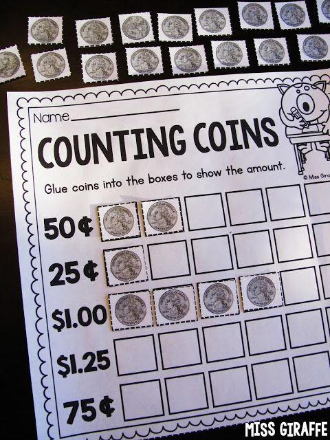 Teaching Money First Grade Money Pinterest Teaching Money