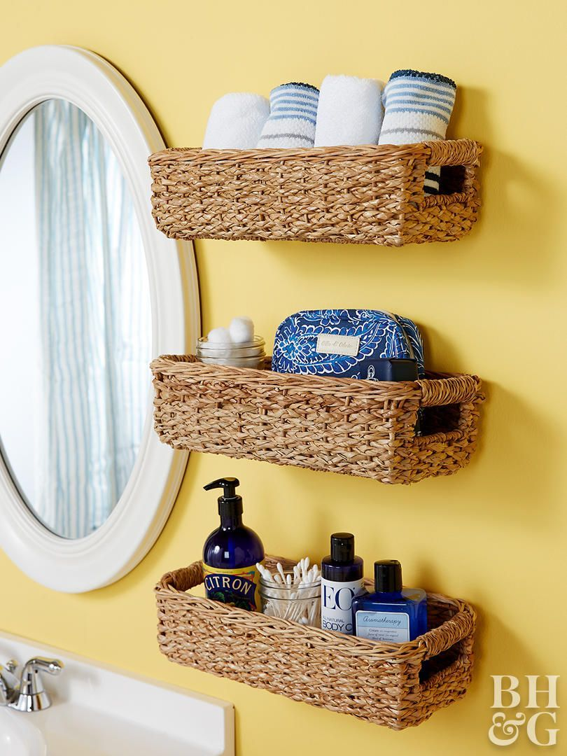 You Ll Wish You D Thought Of 9 Small Bathroom Storage Bathroom Storage Solutions Bathroom Baskets