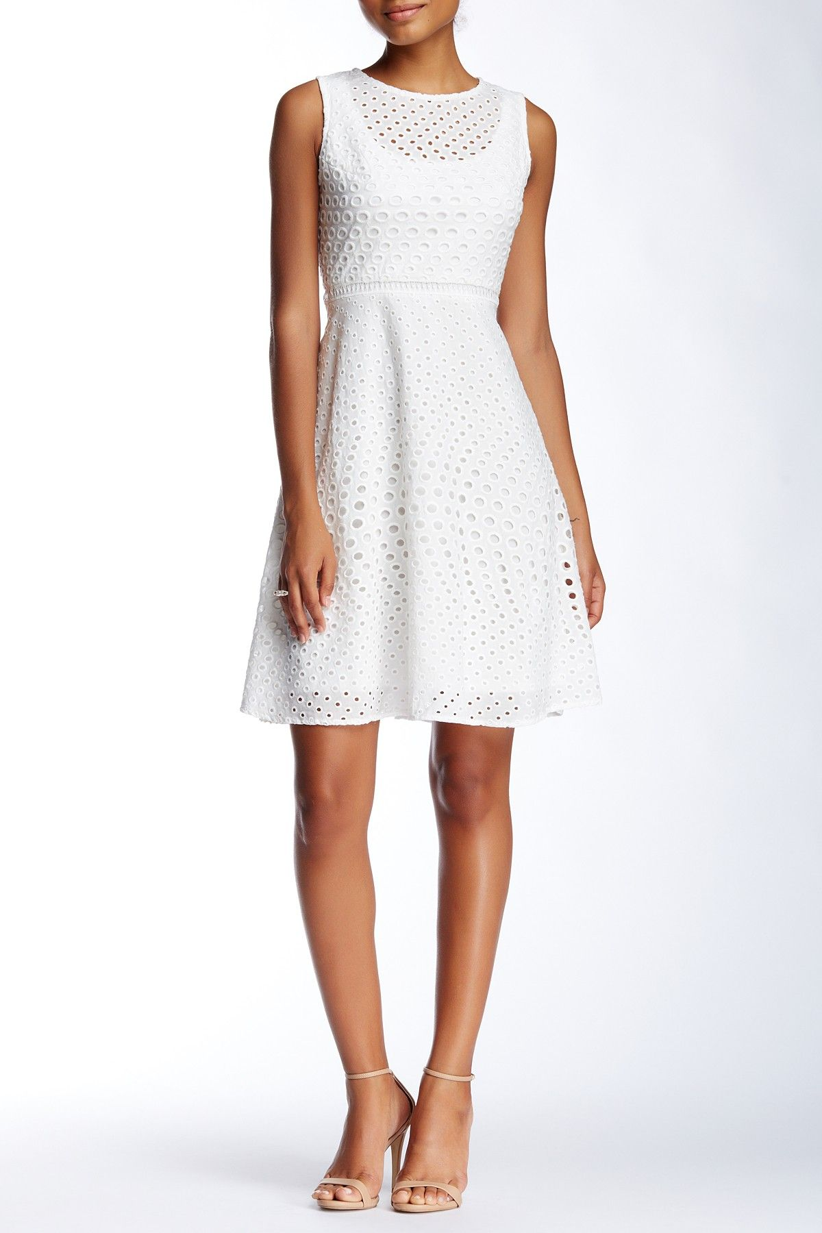 Julia Jordan   Sleeveless Eyelet Dress   Nordstrom and Shopping