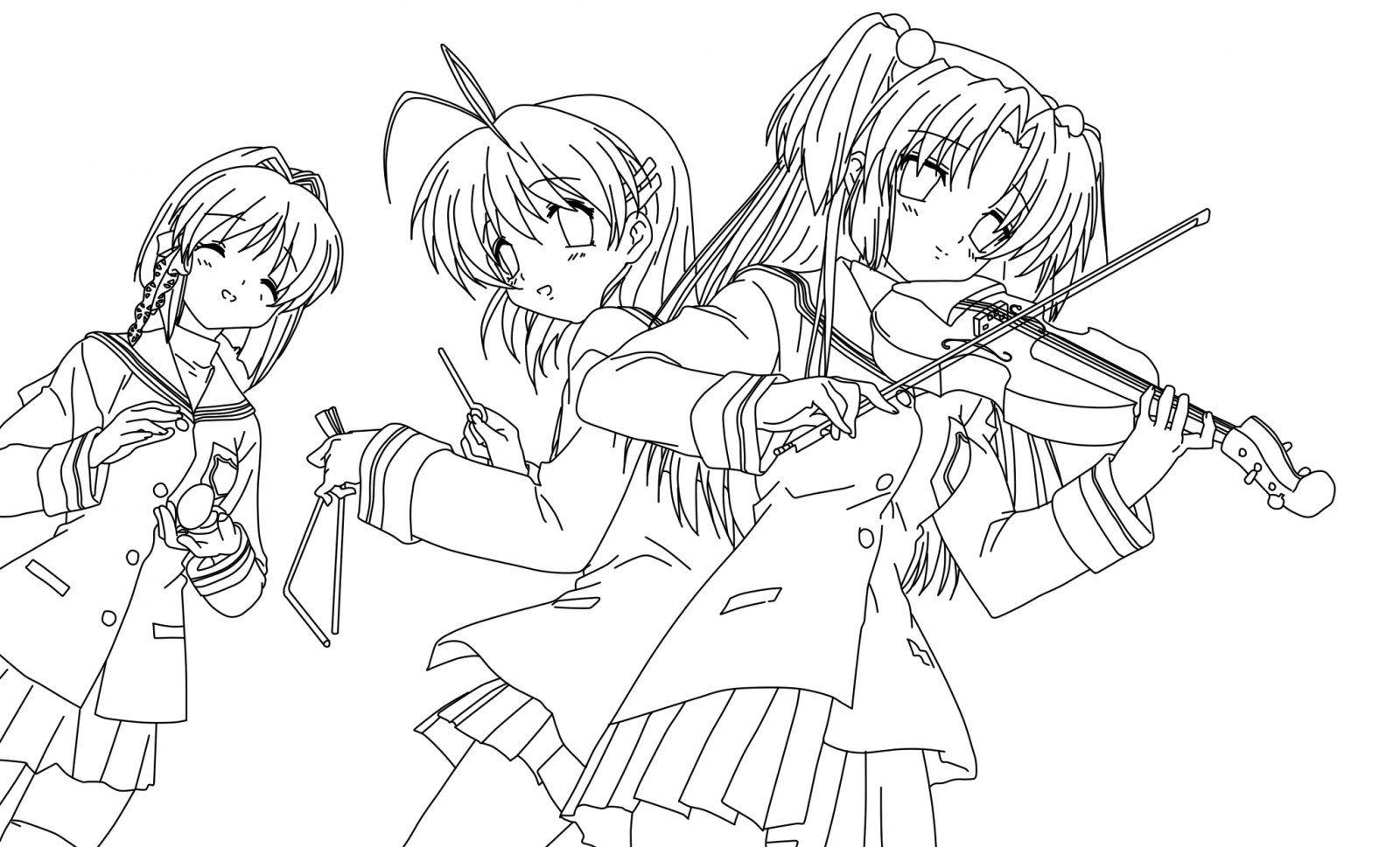 Desenhos Manga Para Pintar Desenhos Manga Para Colorir With