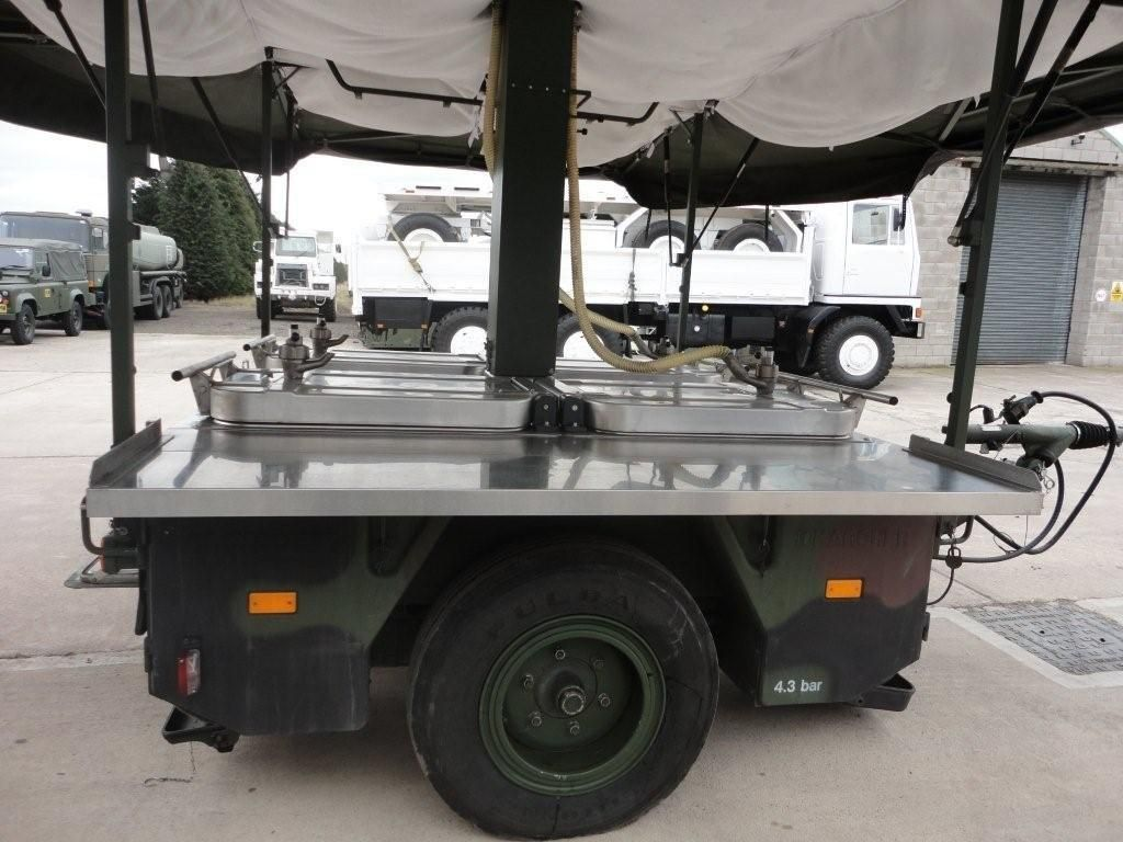 Karcher TFK 250 army mobile field kitchen trailer | used military ...