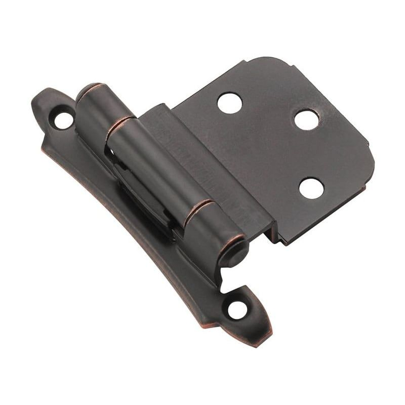 Amerock Bp7928 Pair Of 3 8 Inset Self Closing Face Mount Hinges Oil Rubbed Bronze Cabinet Hinges Inset Hinges Types Of Hinges Amerock Cabinet Hinges