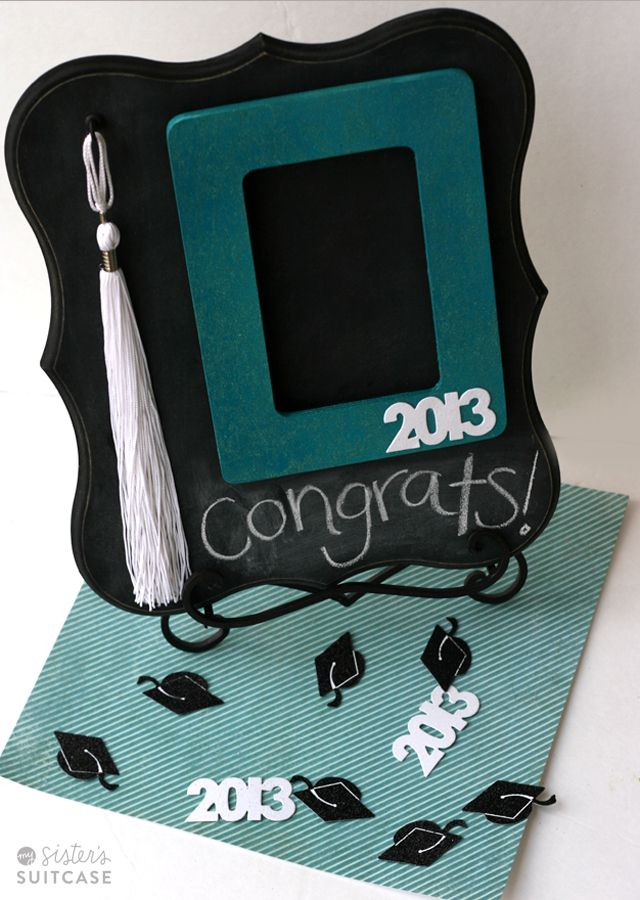 My sisters suitcase diy graduation gift chalkboard tassel frame my sisters suitcase diy graduation gift chalkboard tassel frame solutioingenieria Images