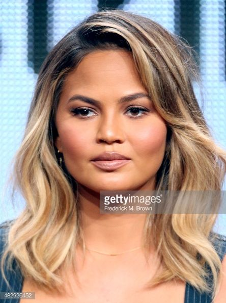 Chrissy Teigen Hair 2015 Google Search Chrissy Teigen Hair Blonde Balayage Beauty Hair Color