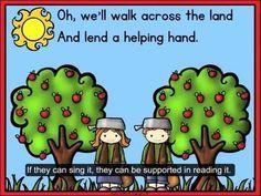 Johnny Appleseed Reading Fluency For Little Learners Youtube Preschool Apple Unit Apple Preschool Apple Kindergarten