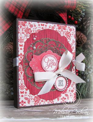 Melissa Cochran: Crazy Paper Freak –  A Gift for Grandma - 12/23/13.  (SU: Everything Eleanor, Chalk Talk, Postage Collection stamps).