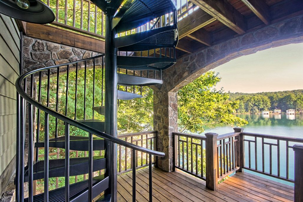 Best The Retreat Spiral Staircase Staircase Outdoor Spiral 400 x 300