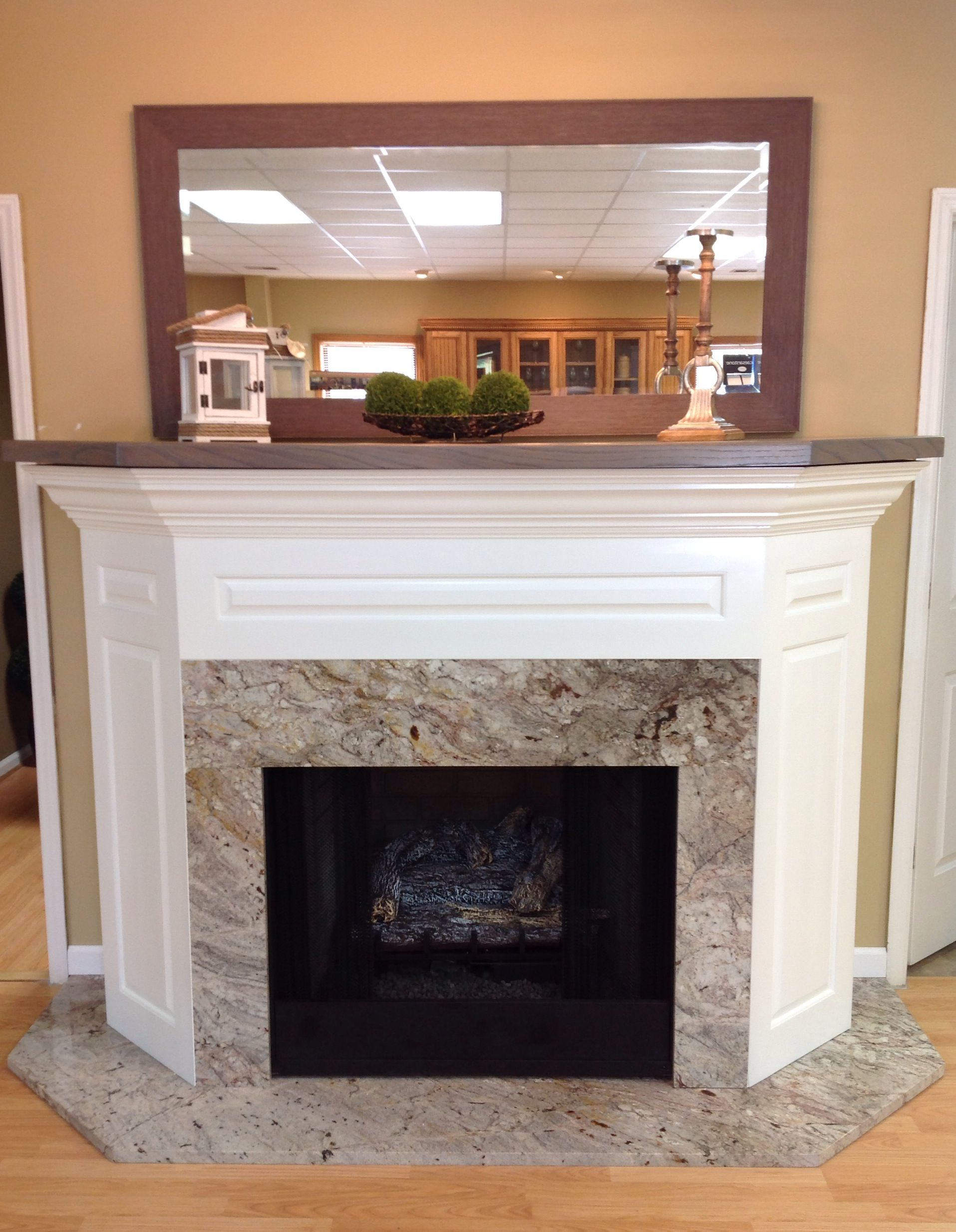 Bordeaux Dream Granite Fireplace Surround And Hearth House Ideas