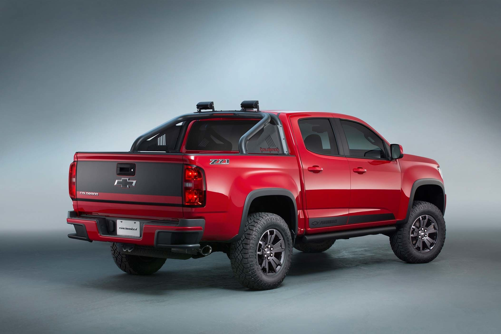 Chevy Colorado Z71 Trail Boss 3 0 Concept Heads To Sema Chevy