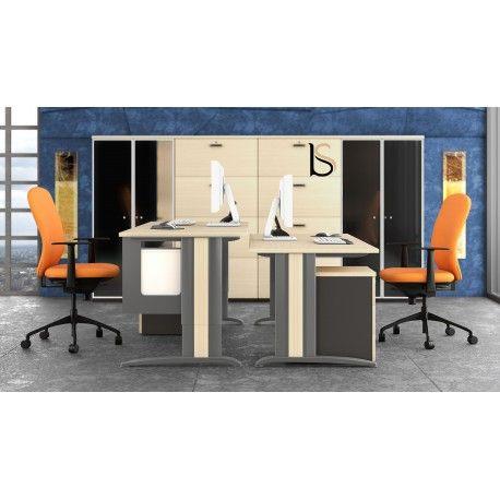 Superb Bureau ergonomique avec r glage de la hauteur du plan de travail Sigma Mobel Linea