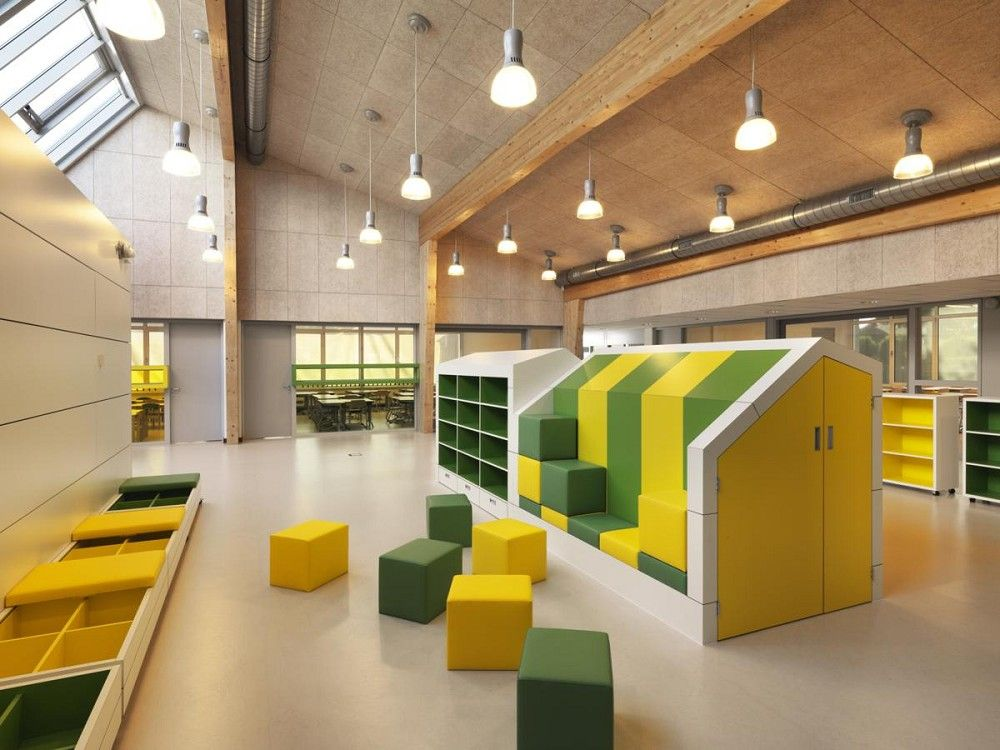 kdv architectuur project brede school de maasparel interieur photoid 246819 architectenwebnl
