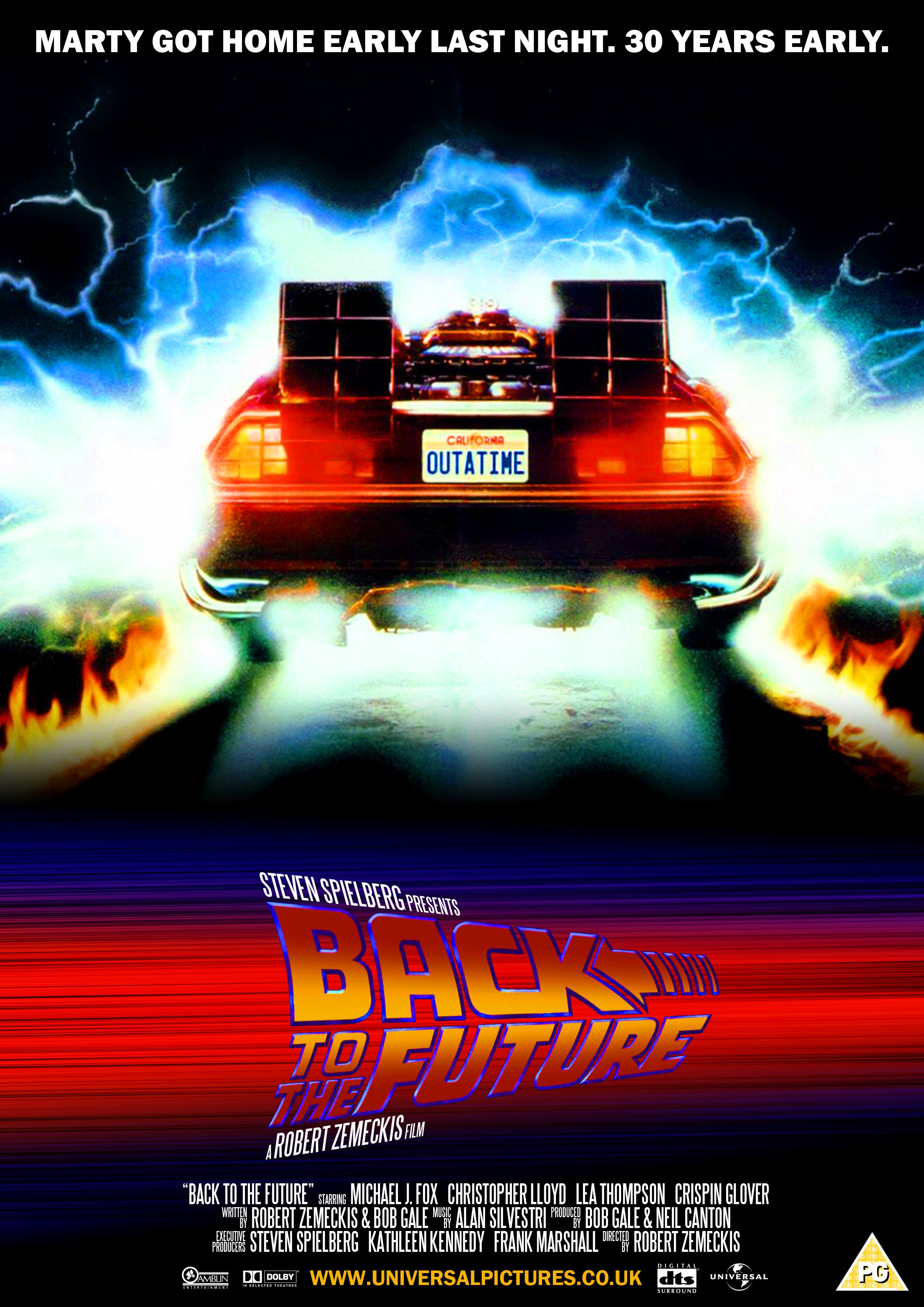 Back to the future 1985 by on