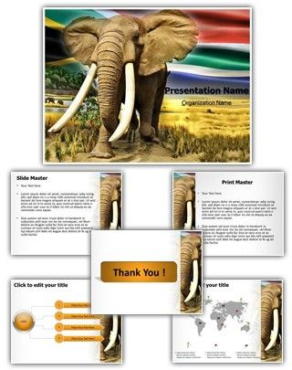 African Elephant Powerpoint Template Is One Of The Best Powerpoint