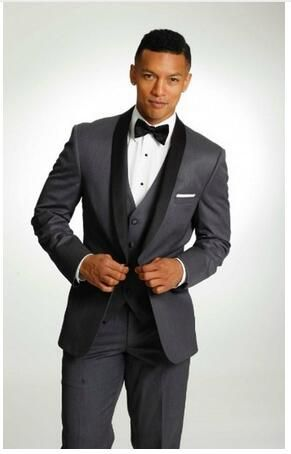 Hot Sale Grey Italian Mens Tailcoat Wedding Suits for Men ...