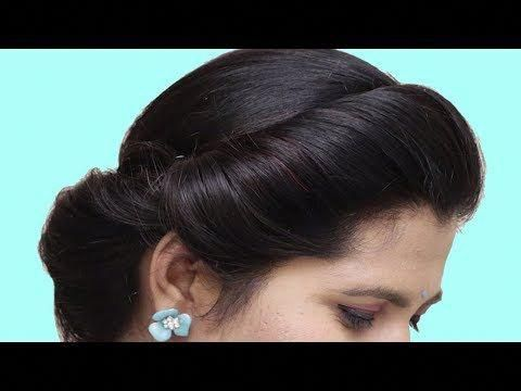 Last Minute Hairstyles for party/wedding/function || Side braid hairstyles || hairstyles | 2019 - YouTube #sideBraided #sidebraidhairstyles