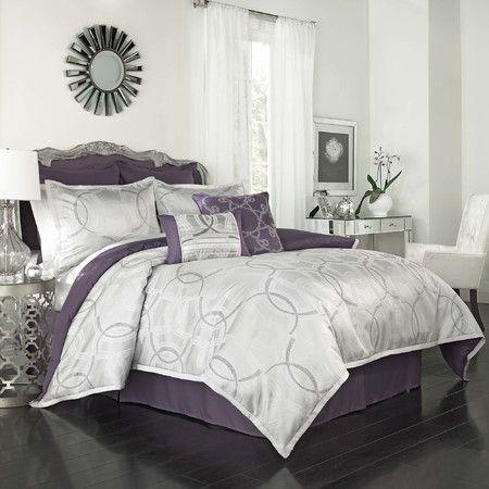 Cassia Comforter Set Comforter Sets Comfortable Bedroom Purple