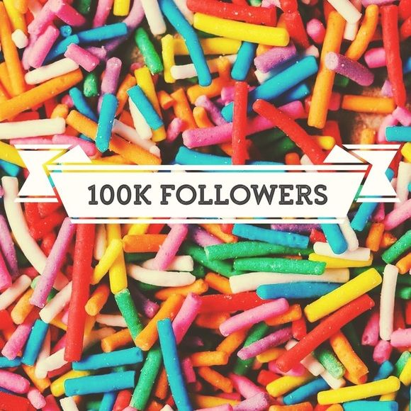 Today I hit 100k followers on Poshmark. I couldn't be more thrilled to announce that today I have 100,000 followers on Poshmark. I have had so much fun and have met so many great people! It has truly been such a blessing. I am offering a discount of 30% off bundles 3+ and of course always happy to accept offers! I really would like to move some of my great pieces in to your fabulous closets 😘 Please share! Here's to 100k more! Other