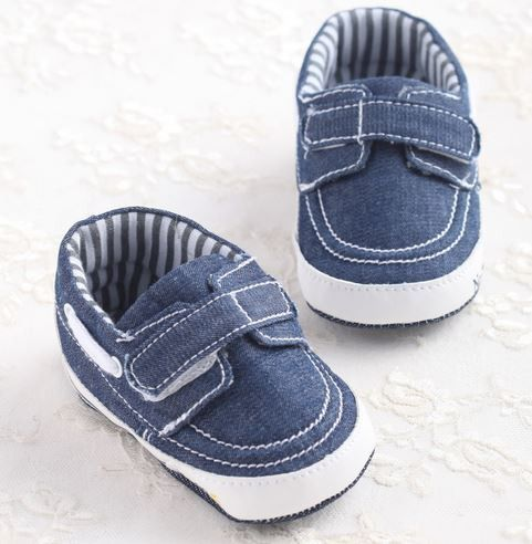 Hot Brand Baby Jeans Sneakers - 0 - 18 M