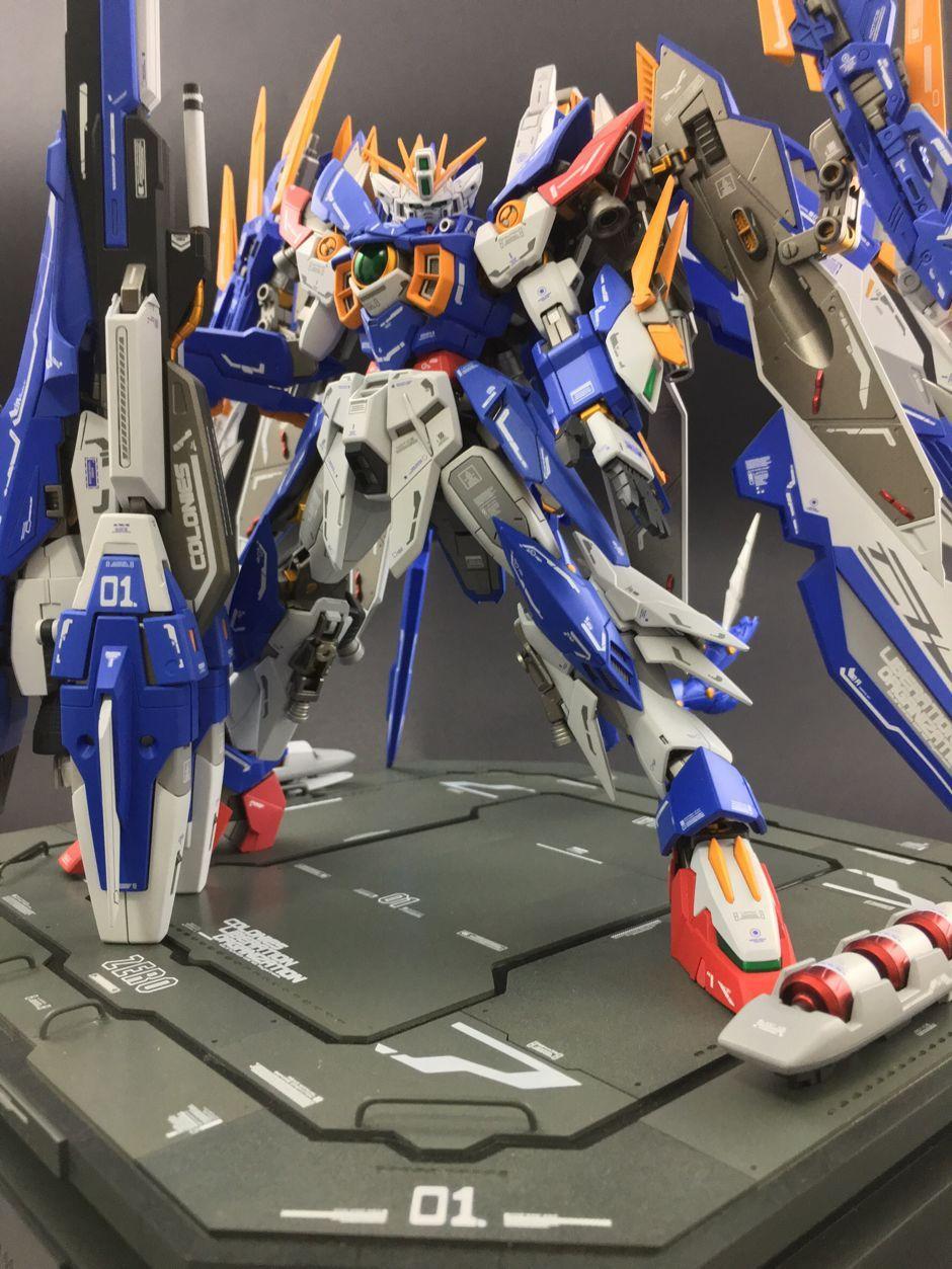 MG 1/100 Amazing Wing Gundam Zero - Custom Build     Modeled by Elicia s8921028                                                                                                                                                     More