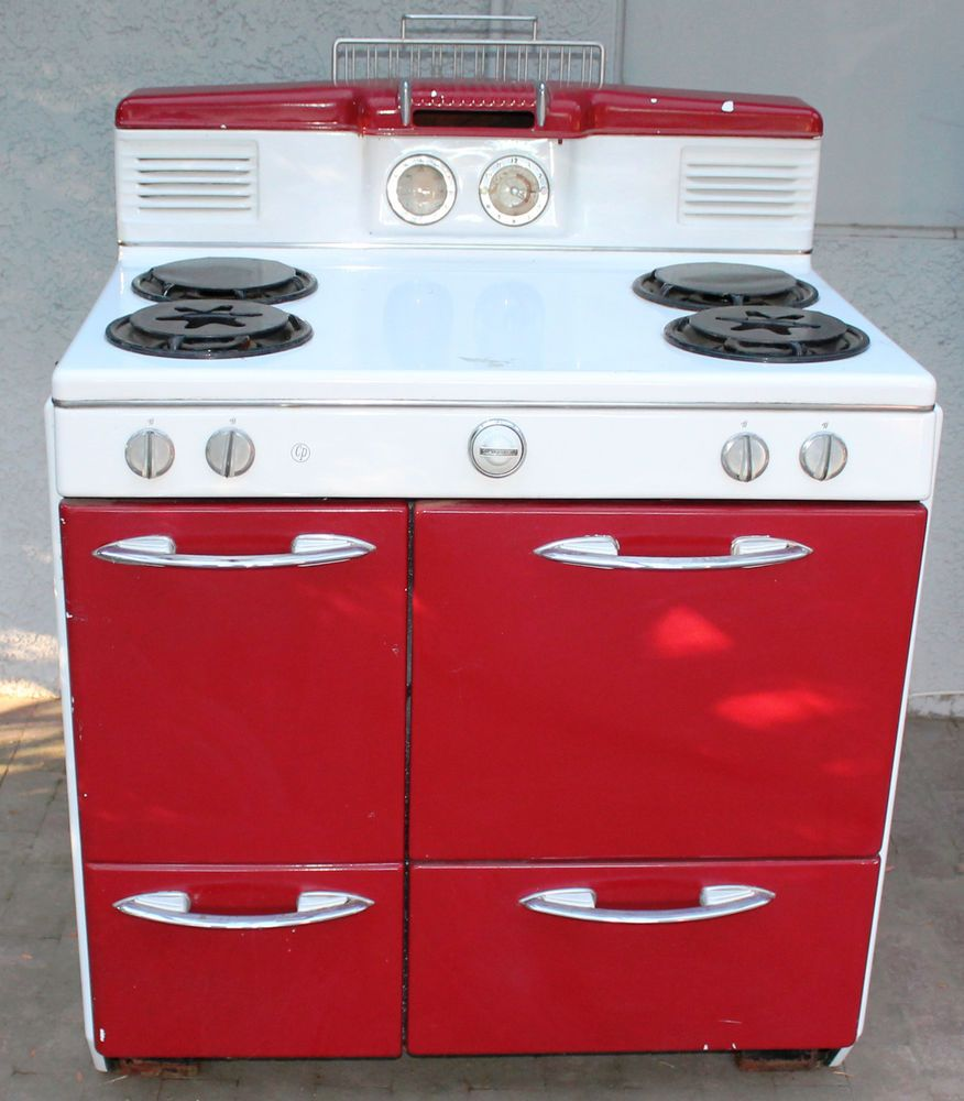 Vintage 1950'S CP Gas Stove Oven Range #cp