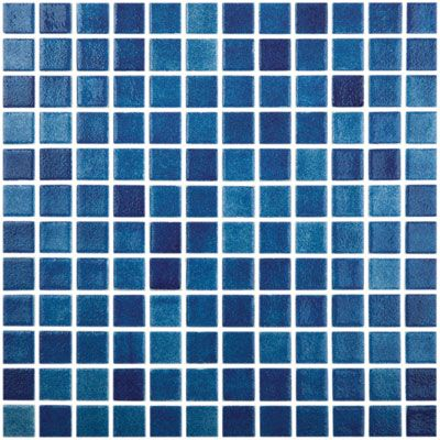 Fog Navy Blue 508 Vidrepur Gl Mosaic Tile 25mm 1 Sheet