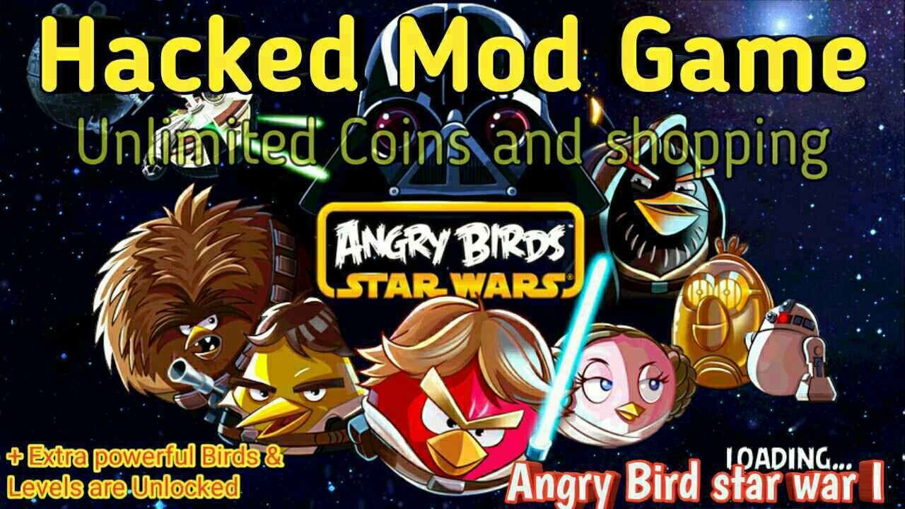 angry birds star wars 2 hacked apk mod