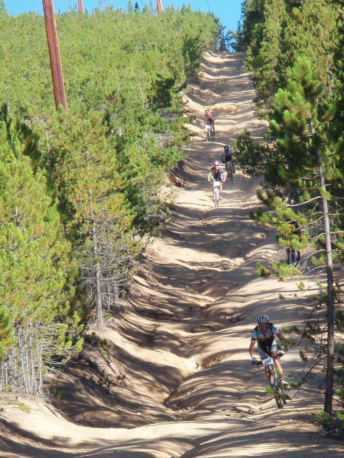 amazingly  the leadville trail 100