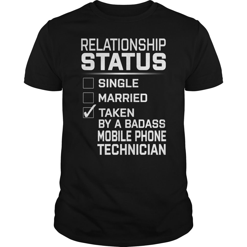 Taken By A Badass Mobile Phone Technician Job Title Shirts Personalized Landtees T shirt