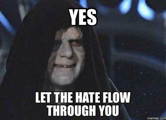 Sith Lord Emperor Palpatine Star Wars Meme