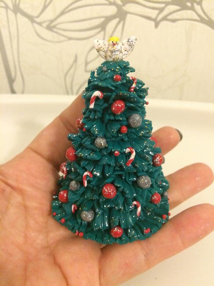 Pin von Dia Na auf Weihnachten aus Fimo | Pinterest | Weihnachten ...