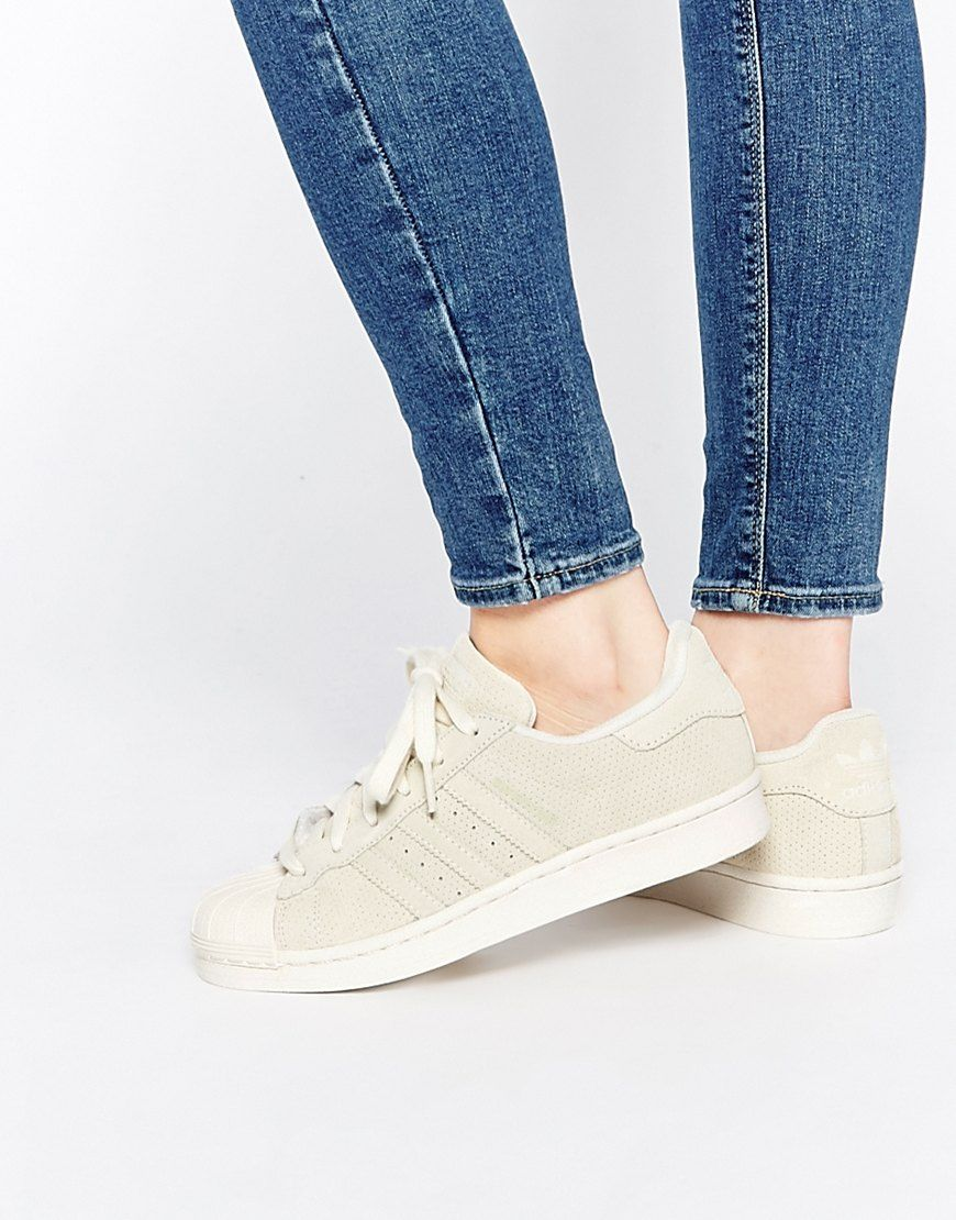adidas superstar chalk white schuhe