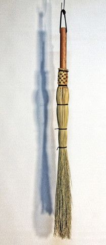 Small Cobwebber - Spider Broom - Broom Corn Duster Broom - Woven