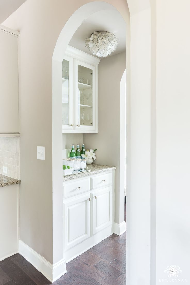 A small butler\'s pantry affordable makeover with small space ...