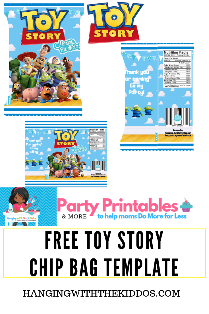 free toy story printable