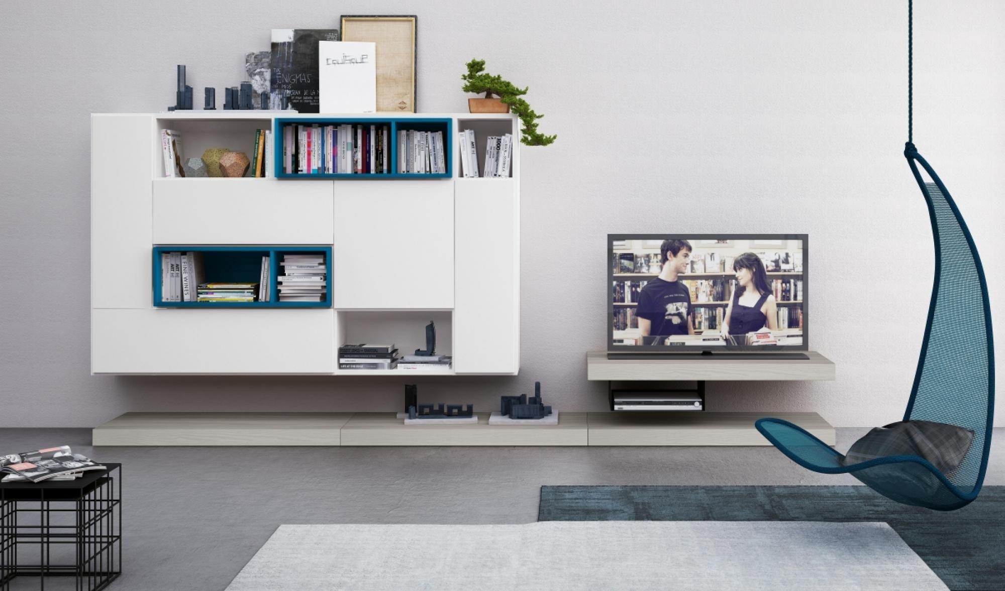 Soggiorno - Living - Colombini Casa - Vitality - composizione basi e ...
