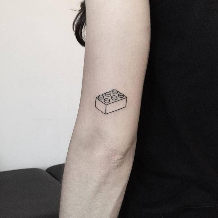 50 Minimalist Hand Poke Tattoo Designs By Pokeeeeeeeoh Lego