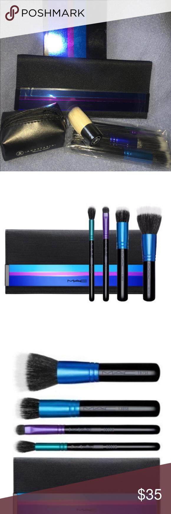Brand new Mac brush set NWT Mac brushes, Eye brushes