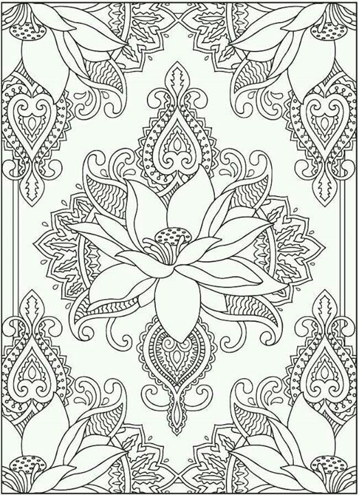 Pin by Mandalas & Puppies on Adult coloring pages with mandalas ...