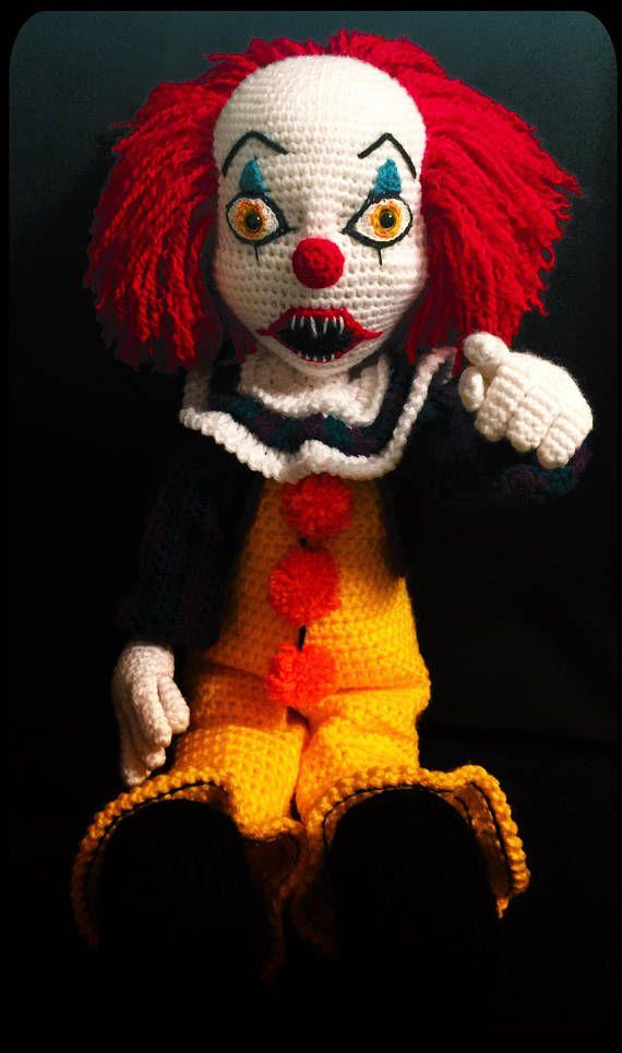 Creepy Clown Crochet Pattern Projects To Try Pinterest Crochet
