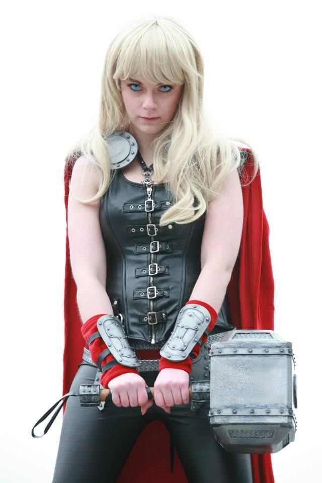 Lady Thor #cosplay #Rule63                                                                                                                                                                                 More