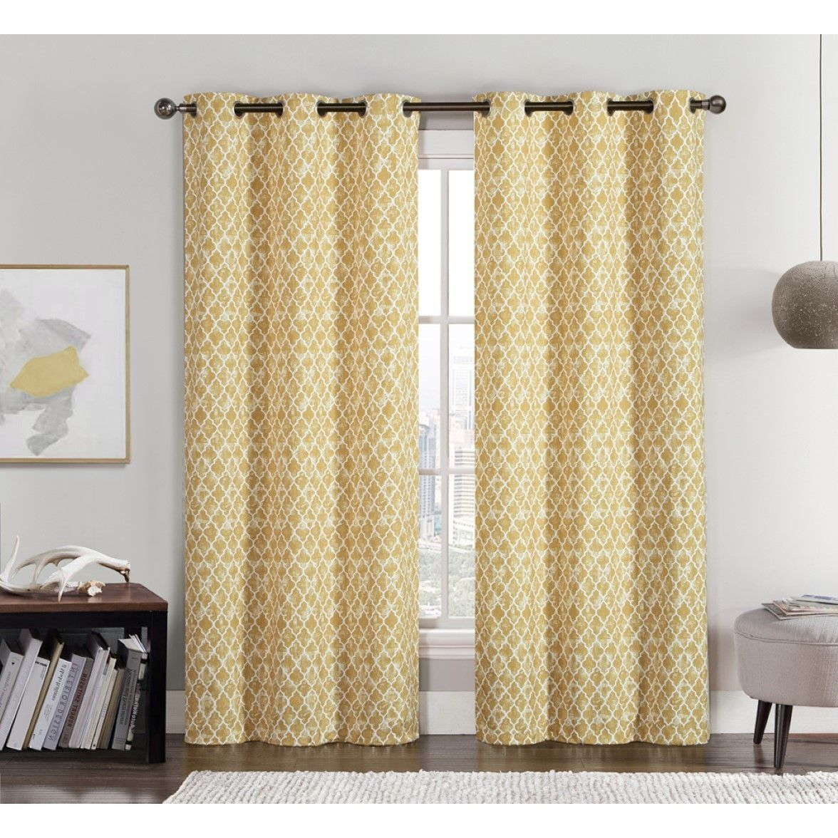 Window Coverings To Keep Heat Out Vcny Amadora Grommet Top 84 Inch Curtain Panel Pair 76 X 84