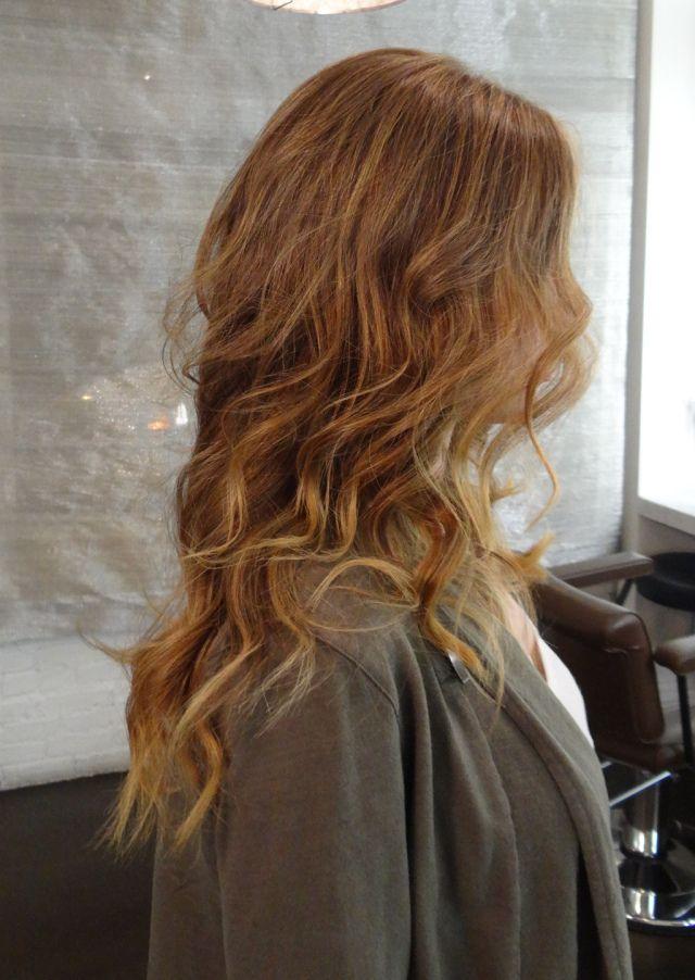 Dark Golden Blonde With Light Tips Dark Blonde Hair Color