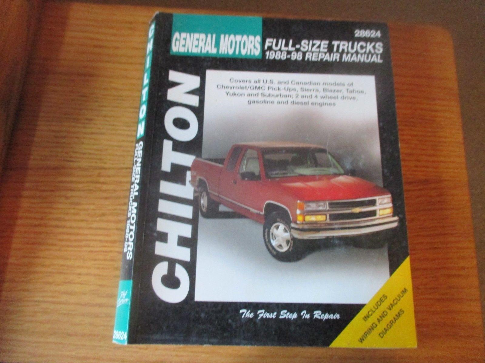 Chevrolet Suburban Blazer 1967-1991 Haynes USA Workshop Manual
