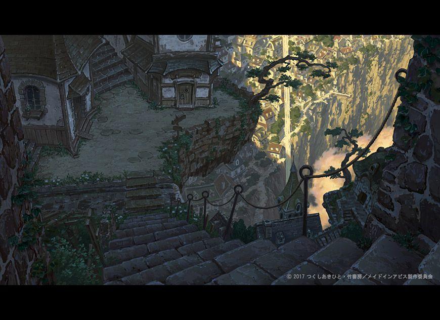 メイドインアビス 背景美術 Pic 04 メイドインアビス 風景の絵