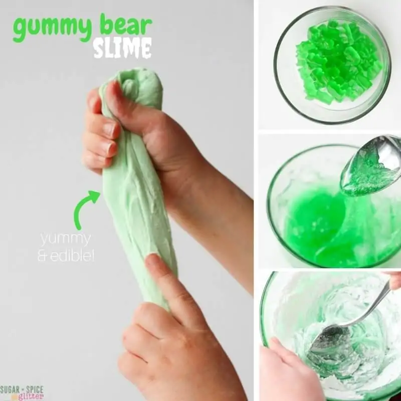 Edible Candy Slime (2 Yummy Ways) with Video ⋆ Sugar, Spice and Glitter