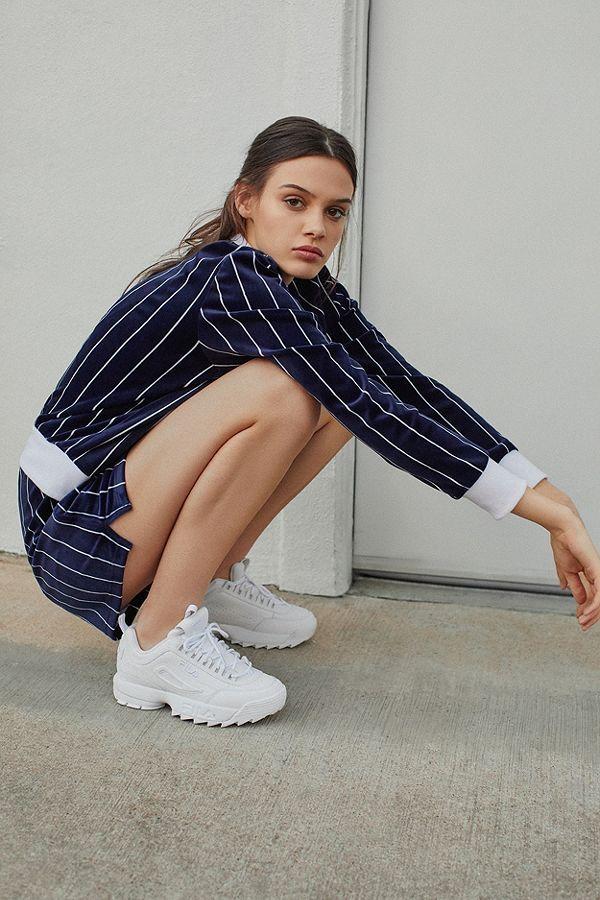FILA Disruptor 2 Premium Mono Sneaker | Women's Fashion ...