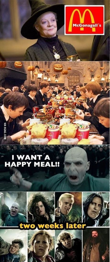 Harry potter happy meal