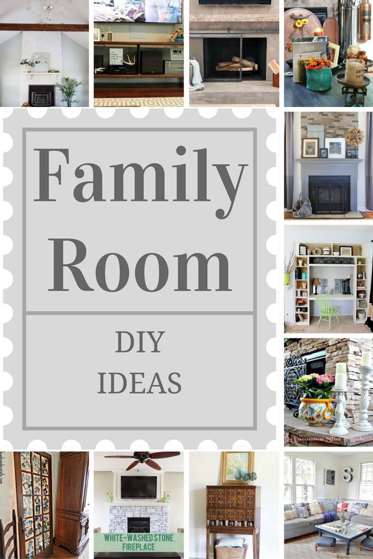 Photo of Family Room DIY Ideas