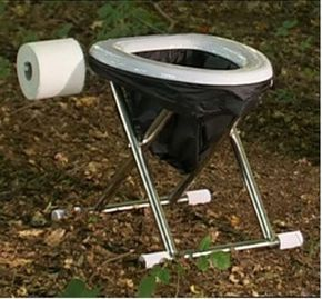 camping toilet 4x4tripping die perfekte reise camping toilette wc unterwegs pinterest. Black Bedroom Furniture Sets. Home Design Ideas