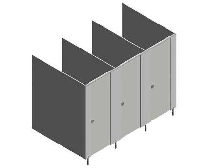 Bathroom Stalls Revit grampian high pressure laminate toilet cubicle system. from
